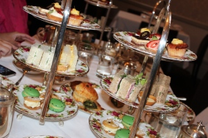 High Tea tier at the QVB