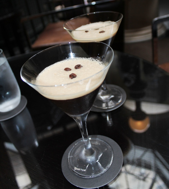 Espresso Martini @ High Coffee