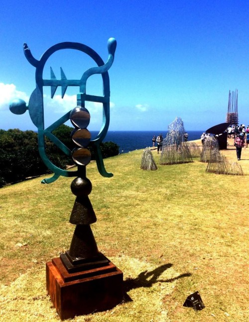 17 the blonde tourist blogger visits sculpture by the sea 2014 (28)