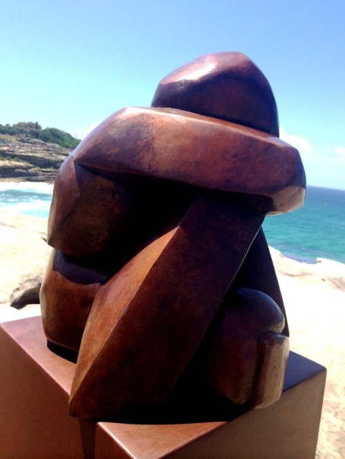 7 the blonde tourist blogger visits sculpture by the sea 2014 (12)