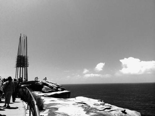 8 the blonde tourist blogger visits sculpture by the sea 2014 (16)