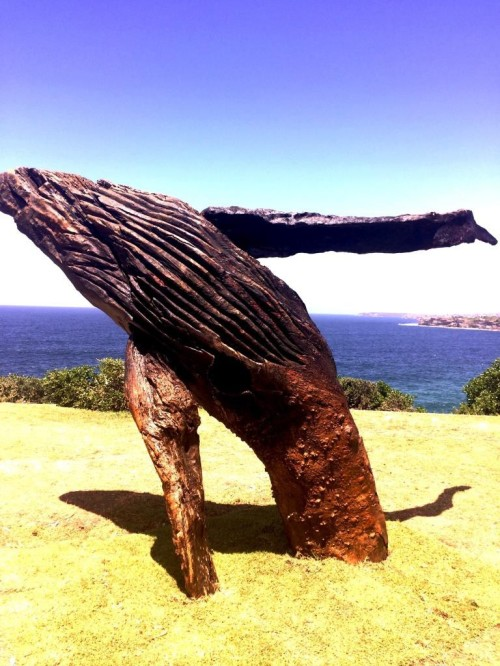 9 the blonde tourist blogger visits sculpture by the sea 2014 (17)