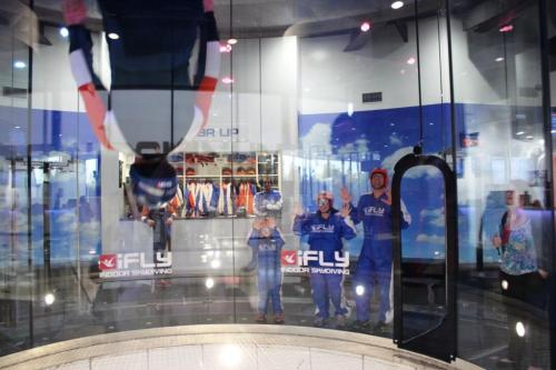 Blonde Tourist blogger at iFLY Downunder Penrith (5)