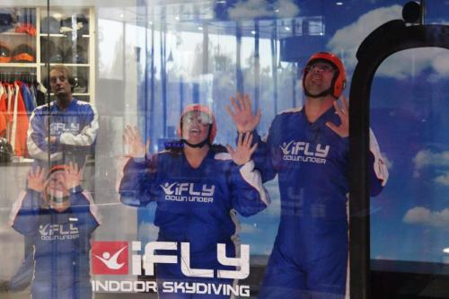 Blonde Tourist blogger at iFLY Downunder Penrith (6)