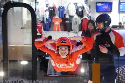 Blonde Tourist blogger at iFLY Downunder Penrith (8)