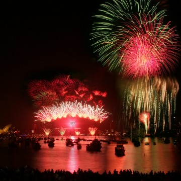 best place to see the nye fireworks in sydney